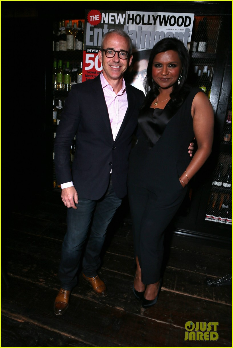 mindy kaling entertainment weekly new hollywood dinner 03