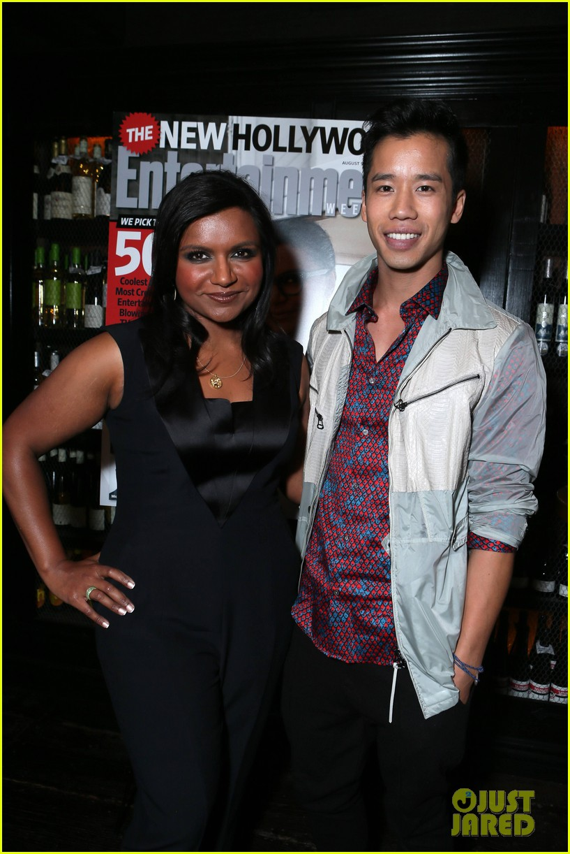 mindy kaling entertainment weekly new hollywood dinner 05