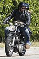 keanu reeves motorcycle ride with mystery blonde 01