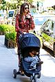 miranda kerr sleepy flynn visit friends 08