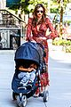 miranda kerr sleepy flynn visit friends 10