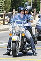 heidi klum martin kirsten motorcycle ride without kids 01