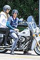 heidi klum martin kirsten motorcycle ride without kids 19