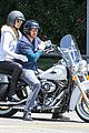 heidi klum martin kirsten motorcycle ride without kids 21