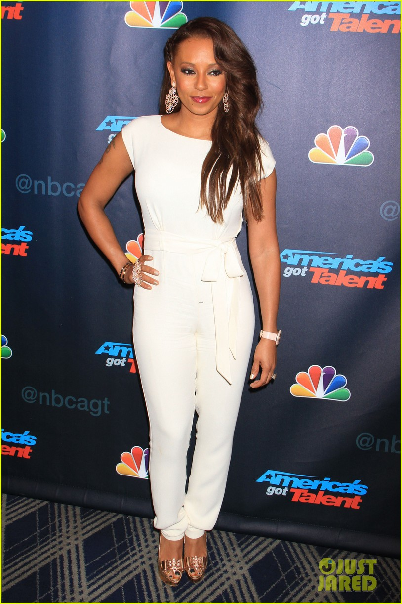 heidi klum mel b americas got talent sixth results show 11