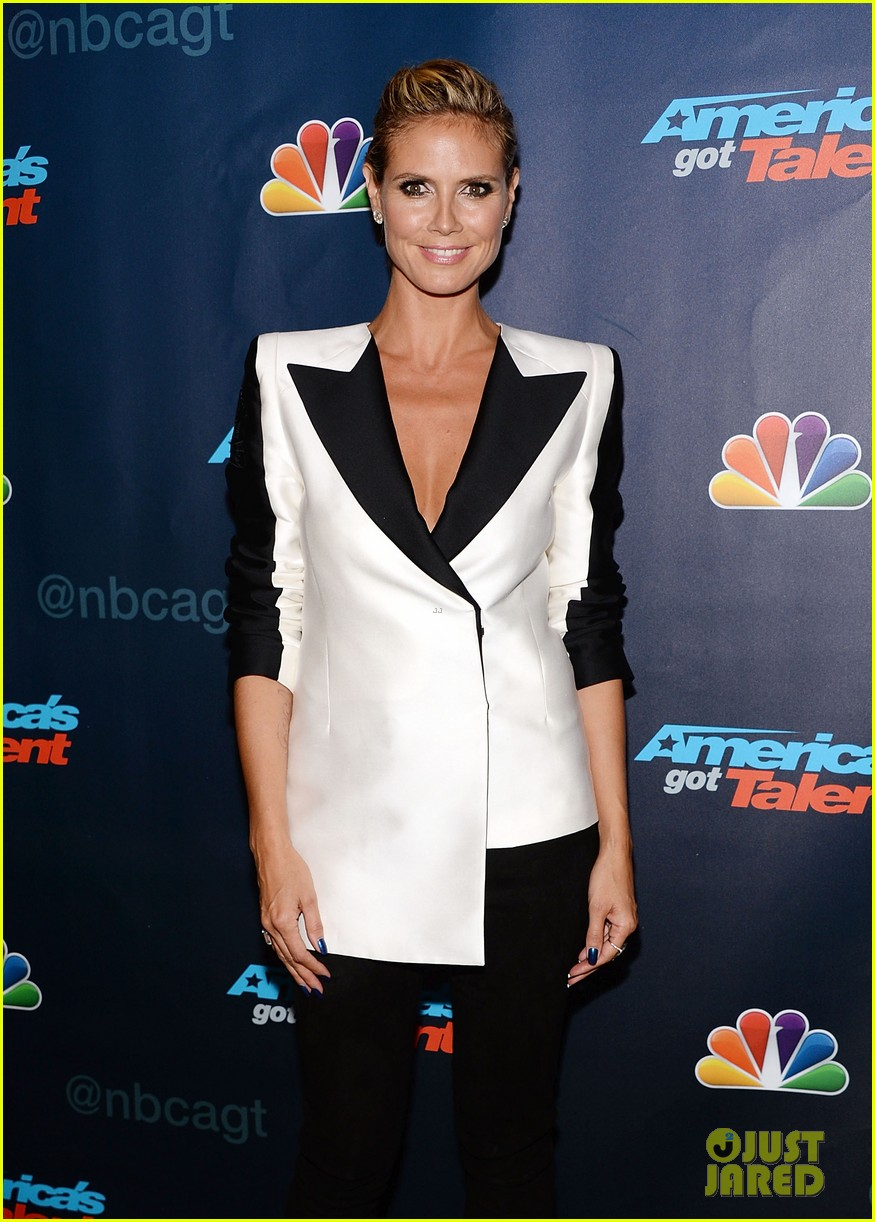 heidi klum mel b americas got talent third results show 06
