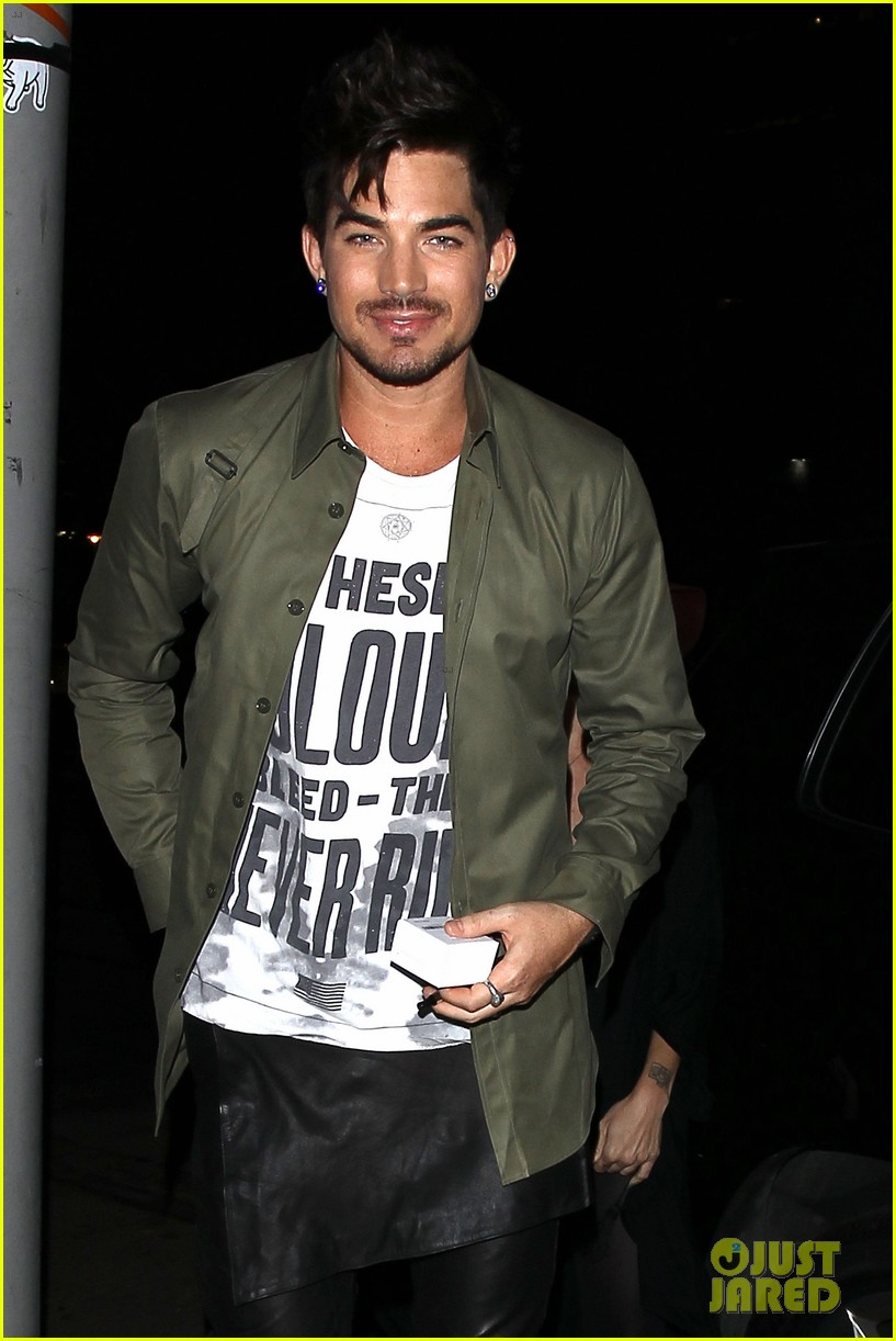 adam lambert ashley greene hooray henrys opening night 21