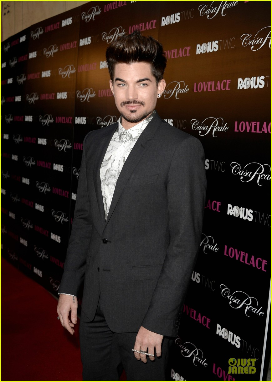 adam lambert lovelace hollywood premiere 09