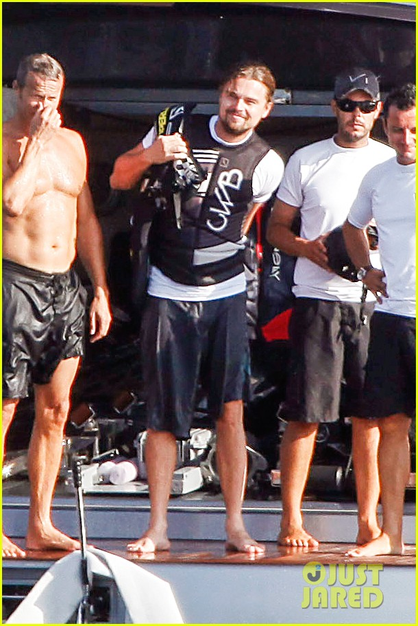 leonardo dicaprio flyboards in the air during ibiza vacation 022925474
