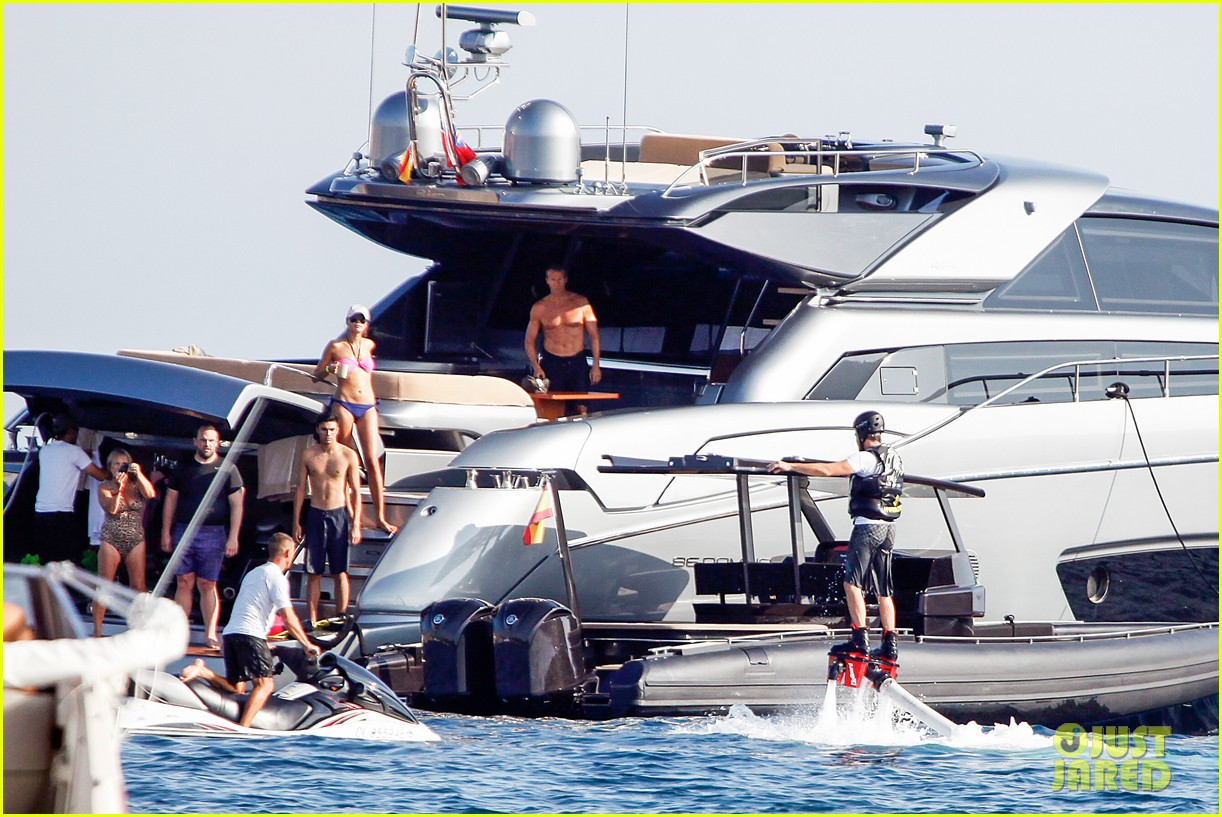 leonardo dicaprio flyboards in the air during ibiza vacation 11