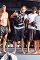 leonardo dicaprio flyboards in the air during ibiza vacation 02