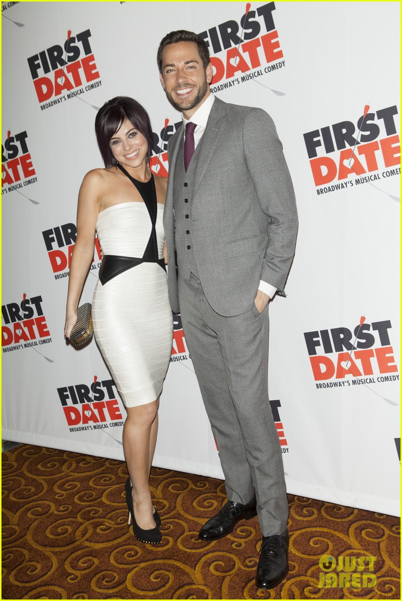 zachary levi krysta rodriguez first date opening night 02