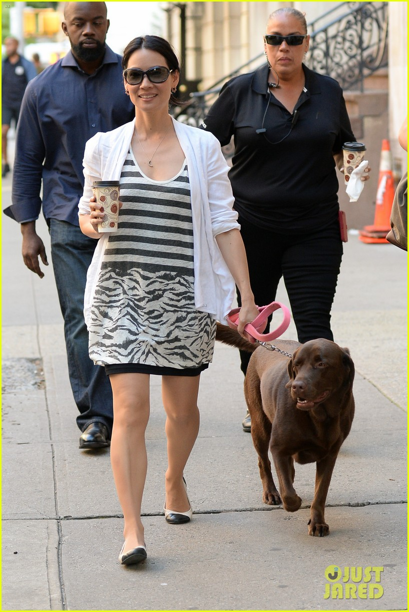lucy liu new boyfriend hold hands in new york city 052932375