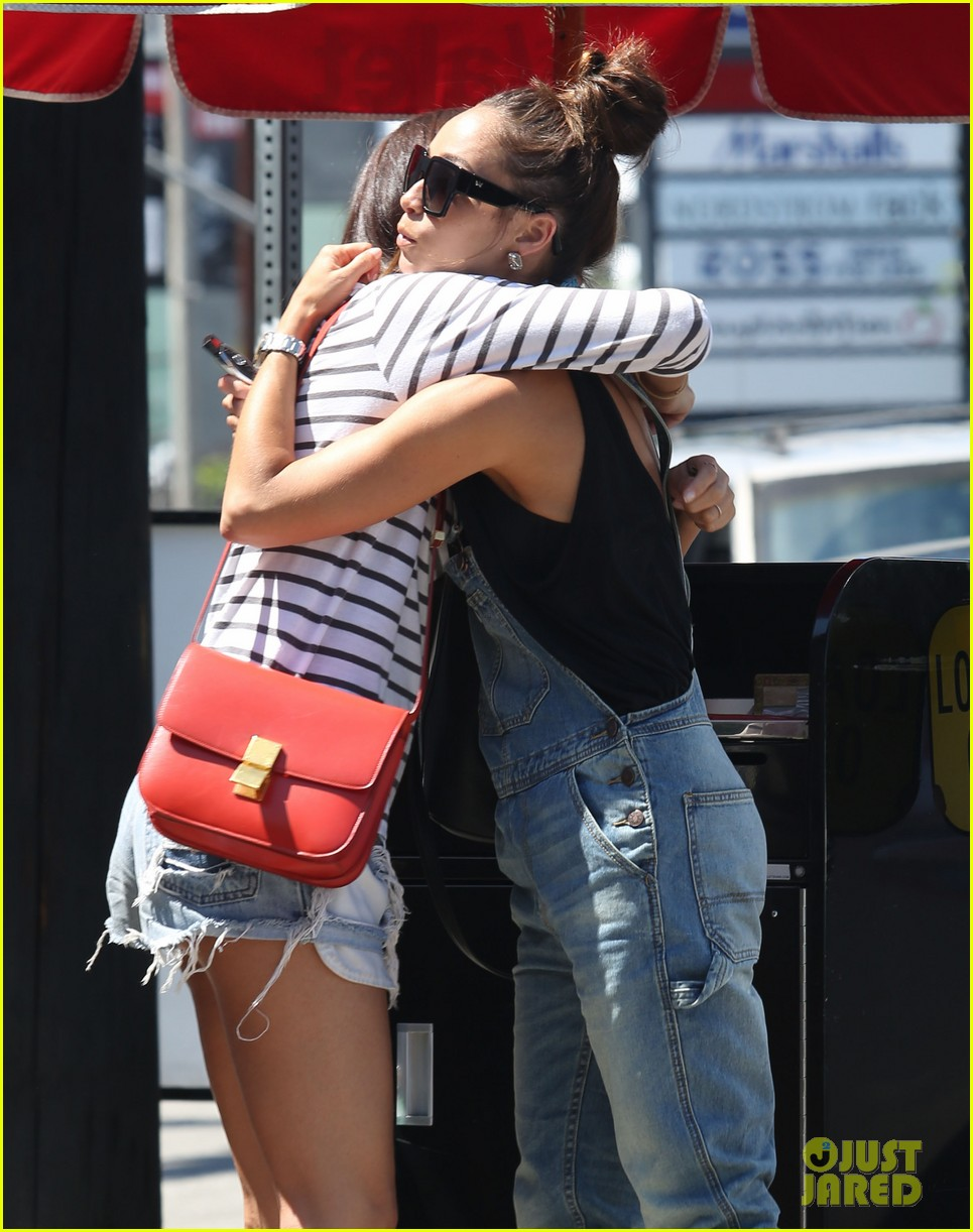 ashley madekwe cara santana izakaya lunch date 29