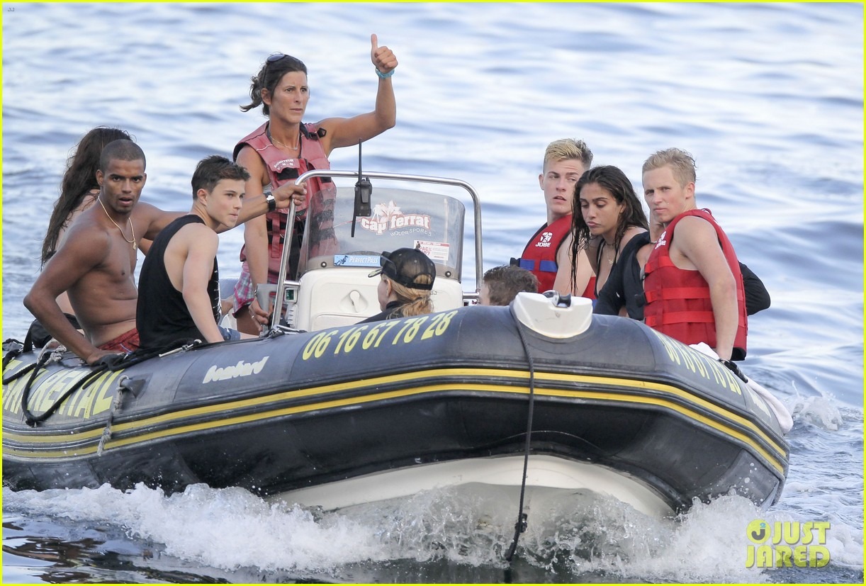 madonna shirtless brahim zaibat vacation with her kids 08