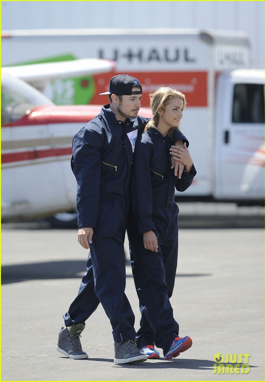 annalynne mccord josh henderson skydiving for a cause 04