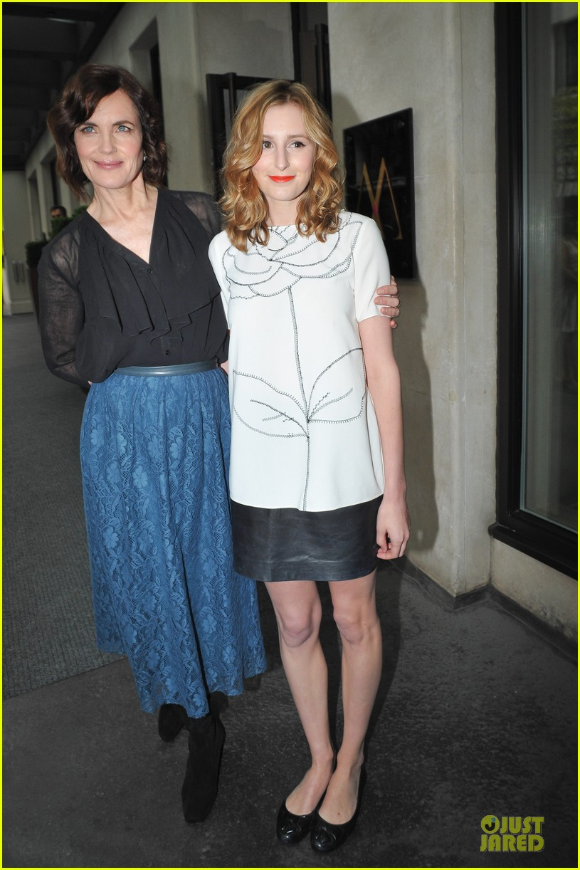 elizabeth mcgovern joanne froggati downton abbey press launch 23