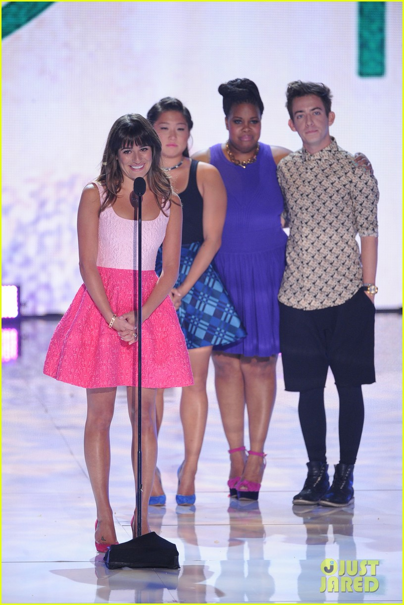 lea michele teen choice awards speech video watch now 01