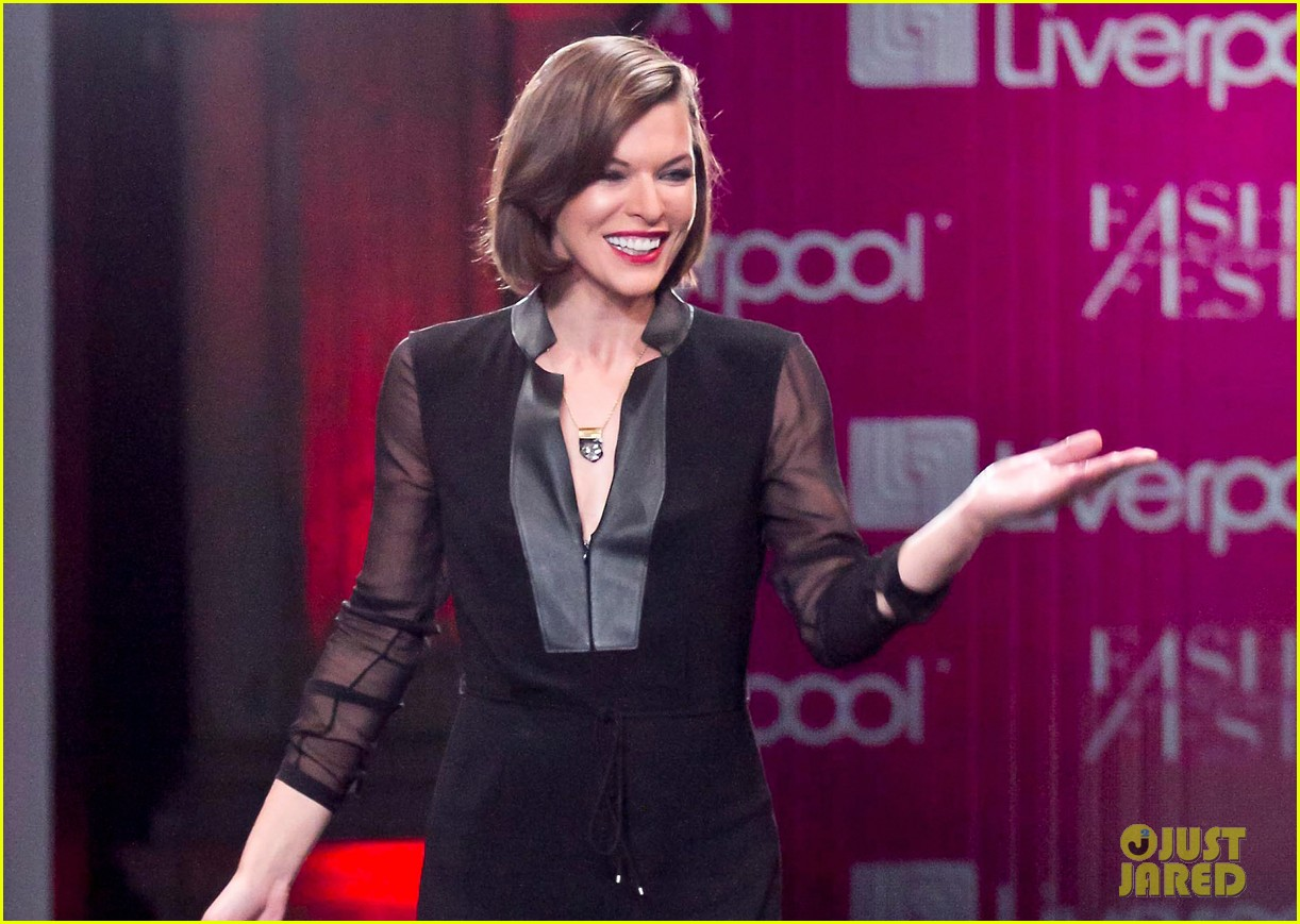 milla jovovich liverpool fashion fest 2013 02