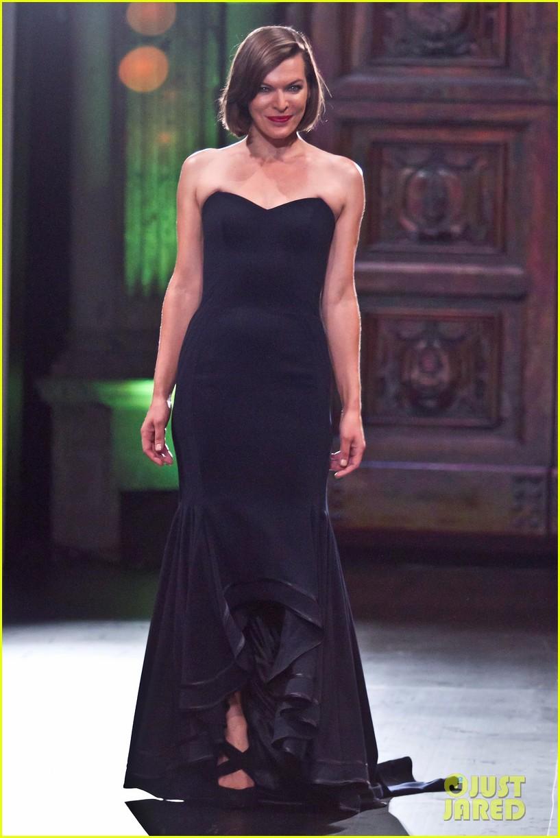 milla jovovich liverpool fashion fest 2013 03