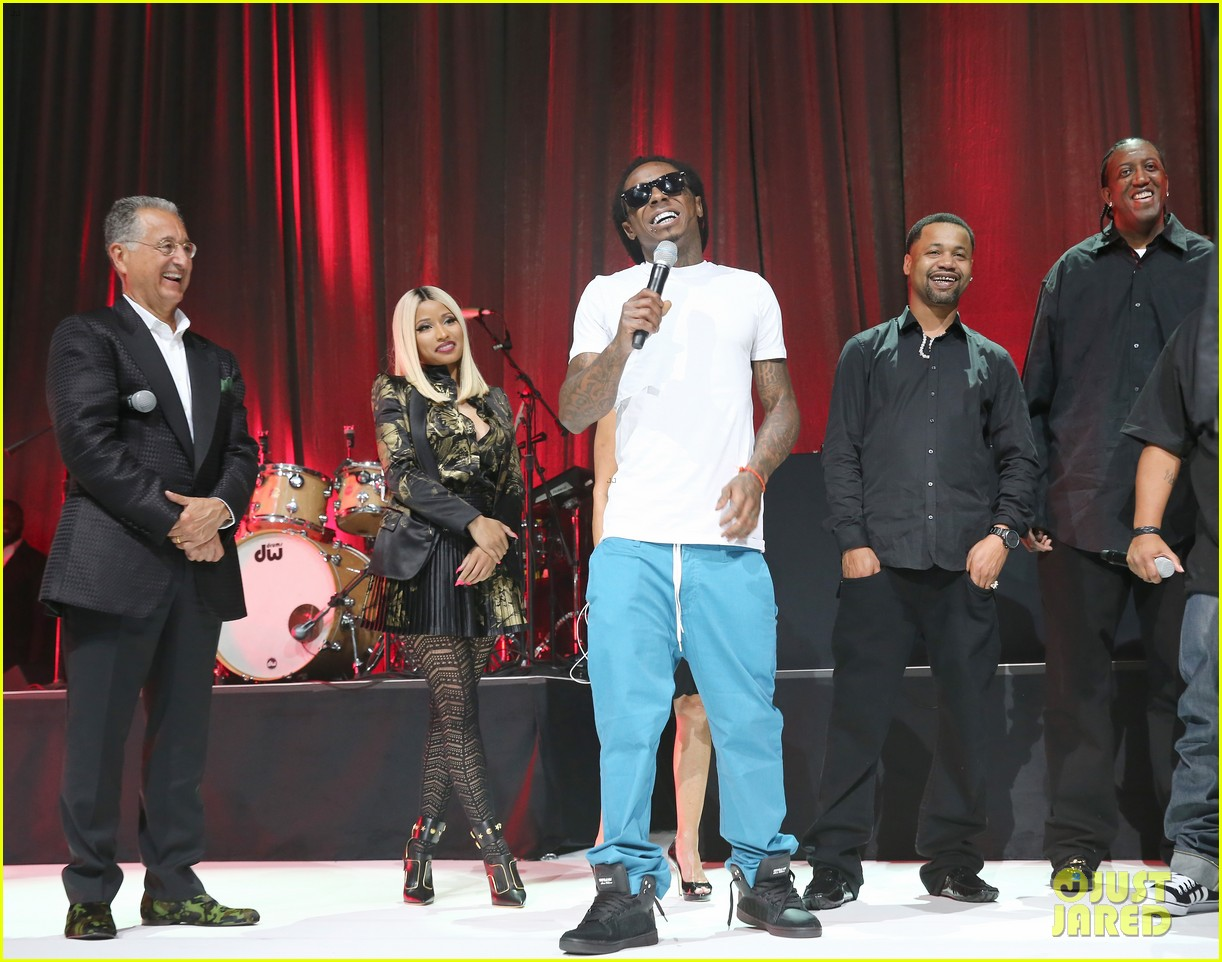 nicki minaj lil wayne bmi rbhip hop awards 2013 01