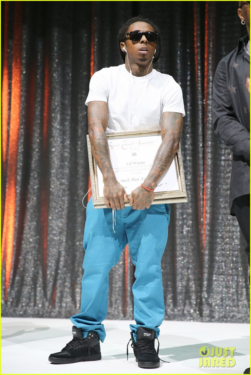 nicki minaj lil wayne bmi rbhip hop awards 2013 12