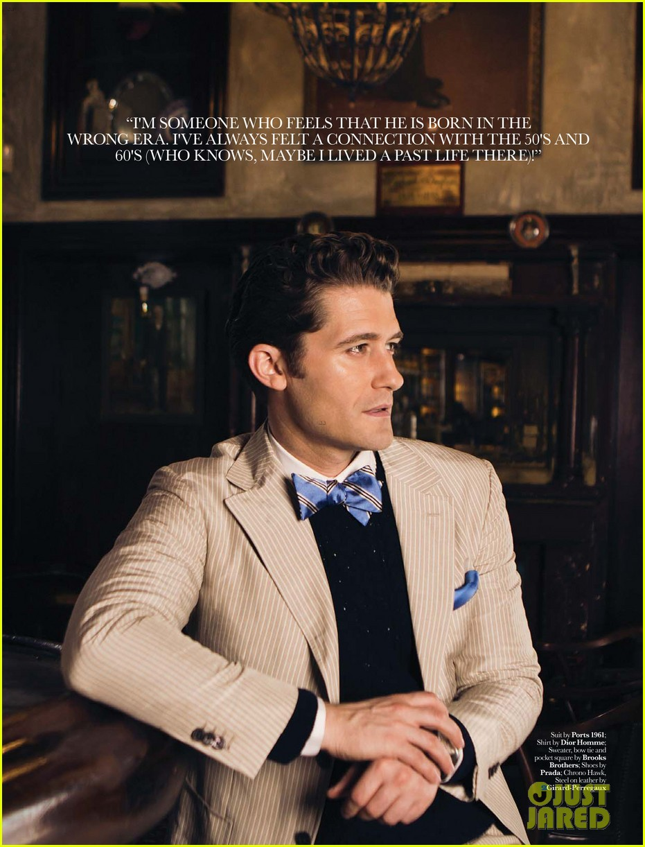 matthew morrison covers august man movement august 2013 06
