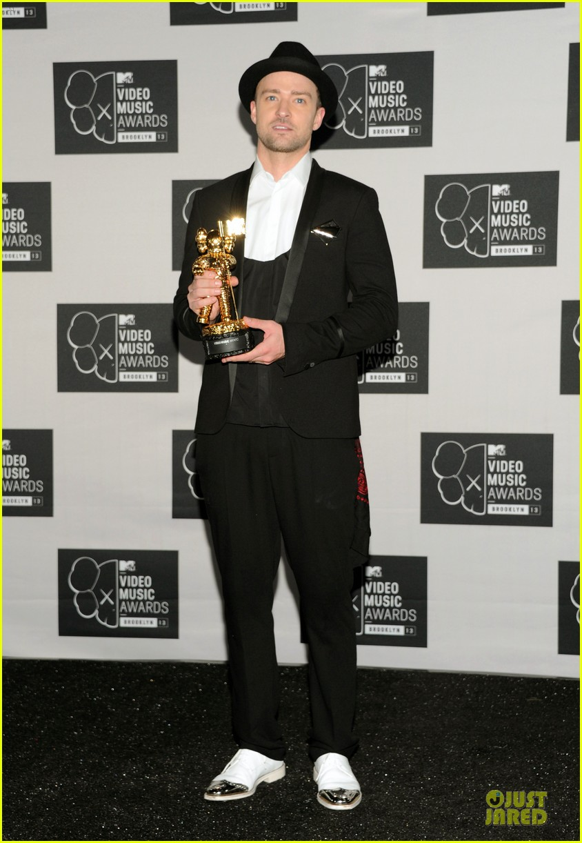 justin timberlake nsync vmas press room 03