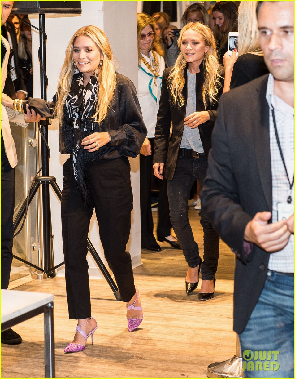 mary kate ashley olsen bik bok launch in norway 052925821