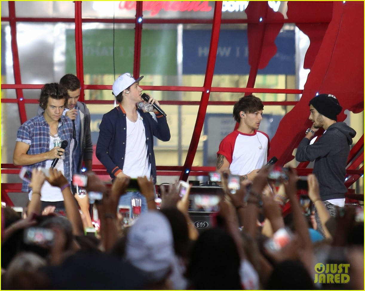 one direction today show concert series watch now 01