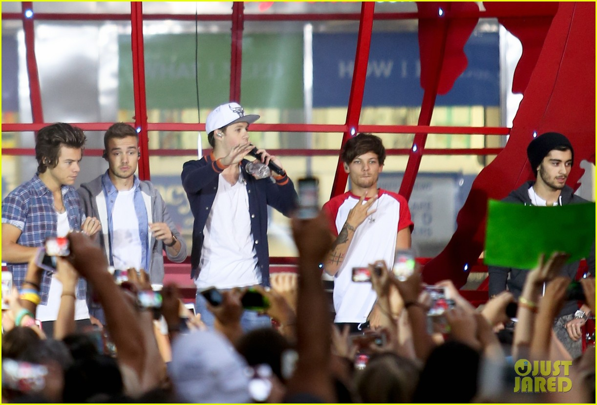 one direction today show concert series watch now 12