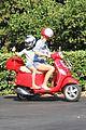 gwyneth paltrow apple moped to coffee shop 19