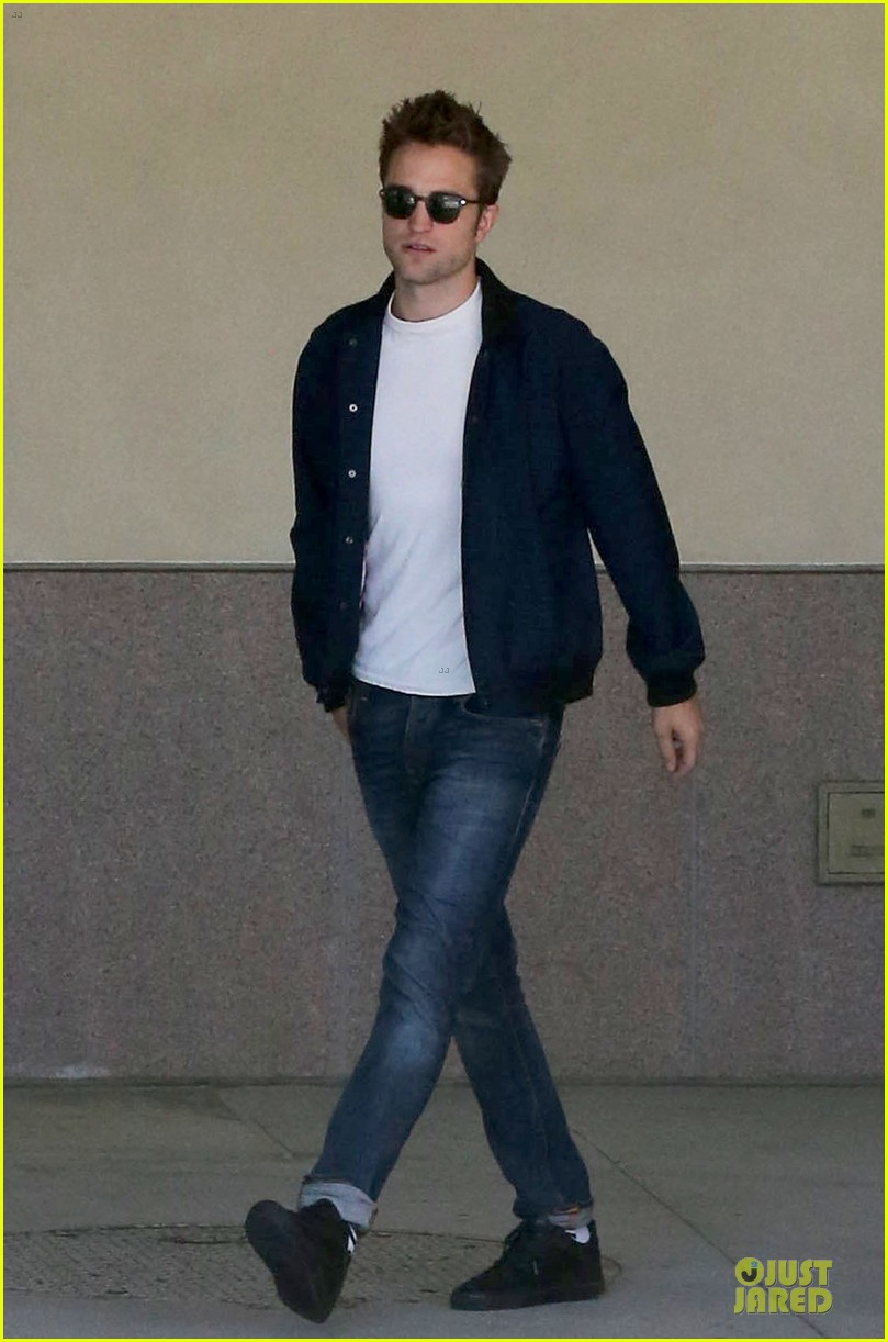robert pattinson cool office building exit 10