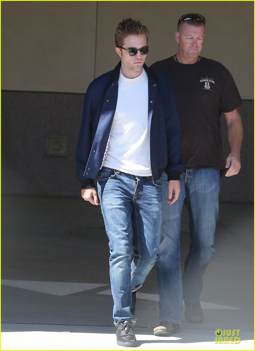 robert pattinson cool office building exit 23