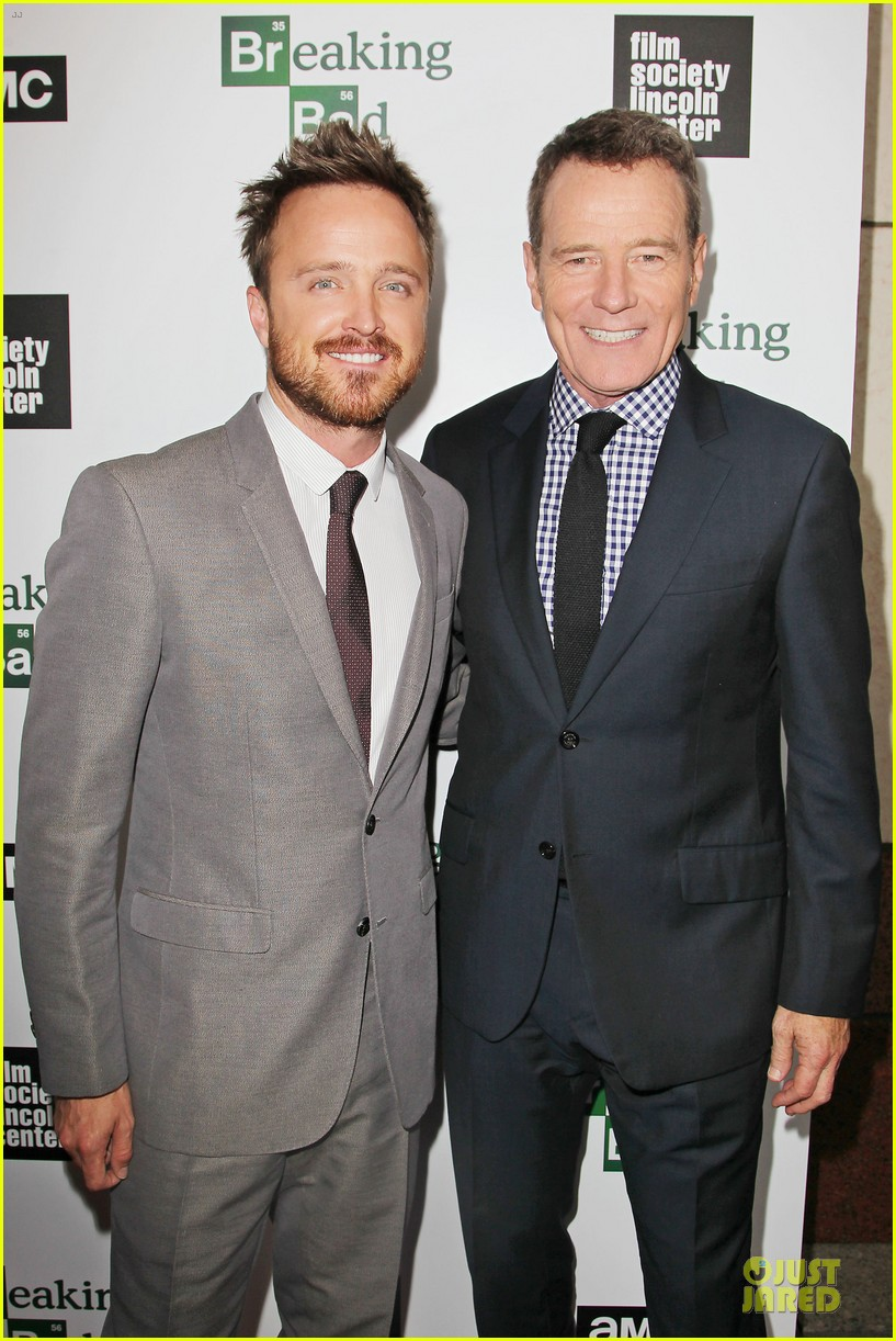 aaron paul bryan cranston breaking bad season 6 premiere 02