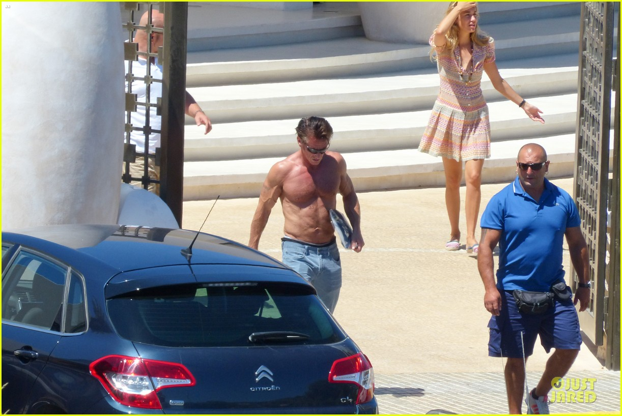 sean penn shirtless ripped on ibiza vacation 07