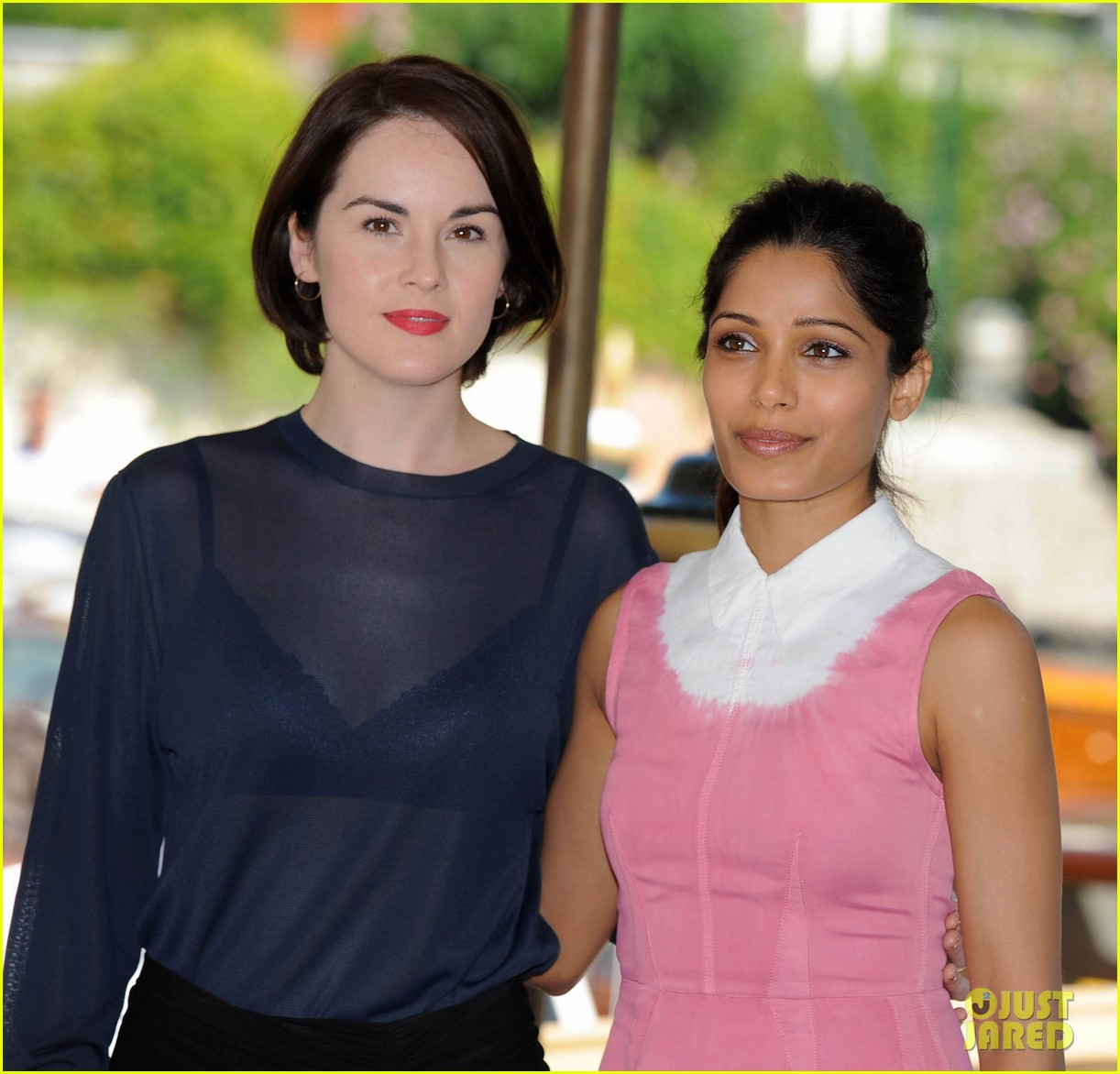 frieda pinto michelle dockery miu mius womens tales talks 102941159