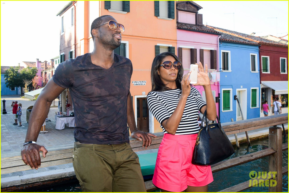 freida pinto venice sightseeing with gabrielle union dwyane wade 15