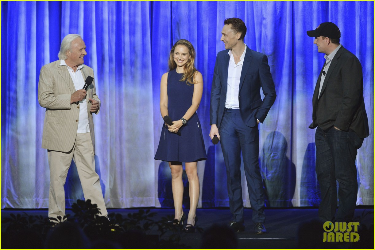 natalie portman tom hiddleston thor at disney d23 expo 08