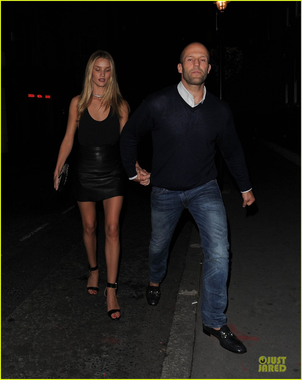 rosie huntington whiteley jason statham dressed up pair 07
