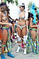 rihanna wears next to nothing for barbados carnival parade 01