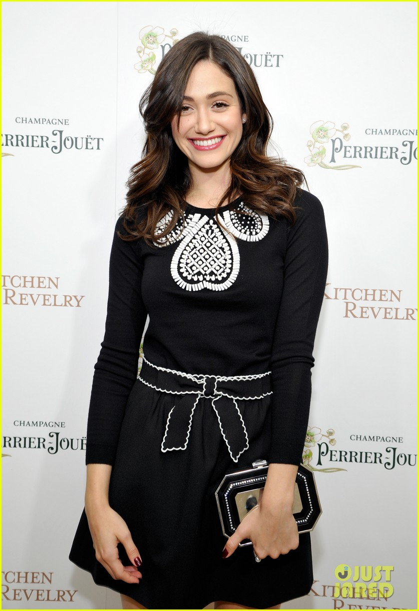 emmy rossum ali larters cookbook release party 04