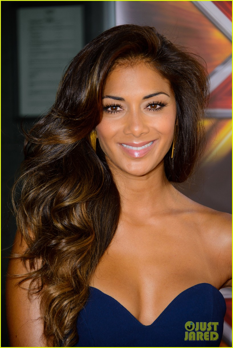 nicole scherzinger x factor uk season ten launch 01