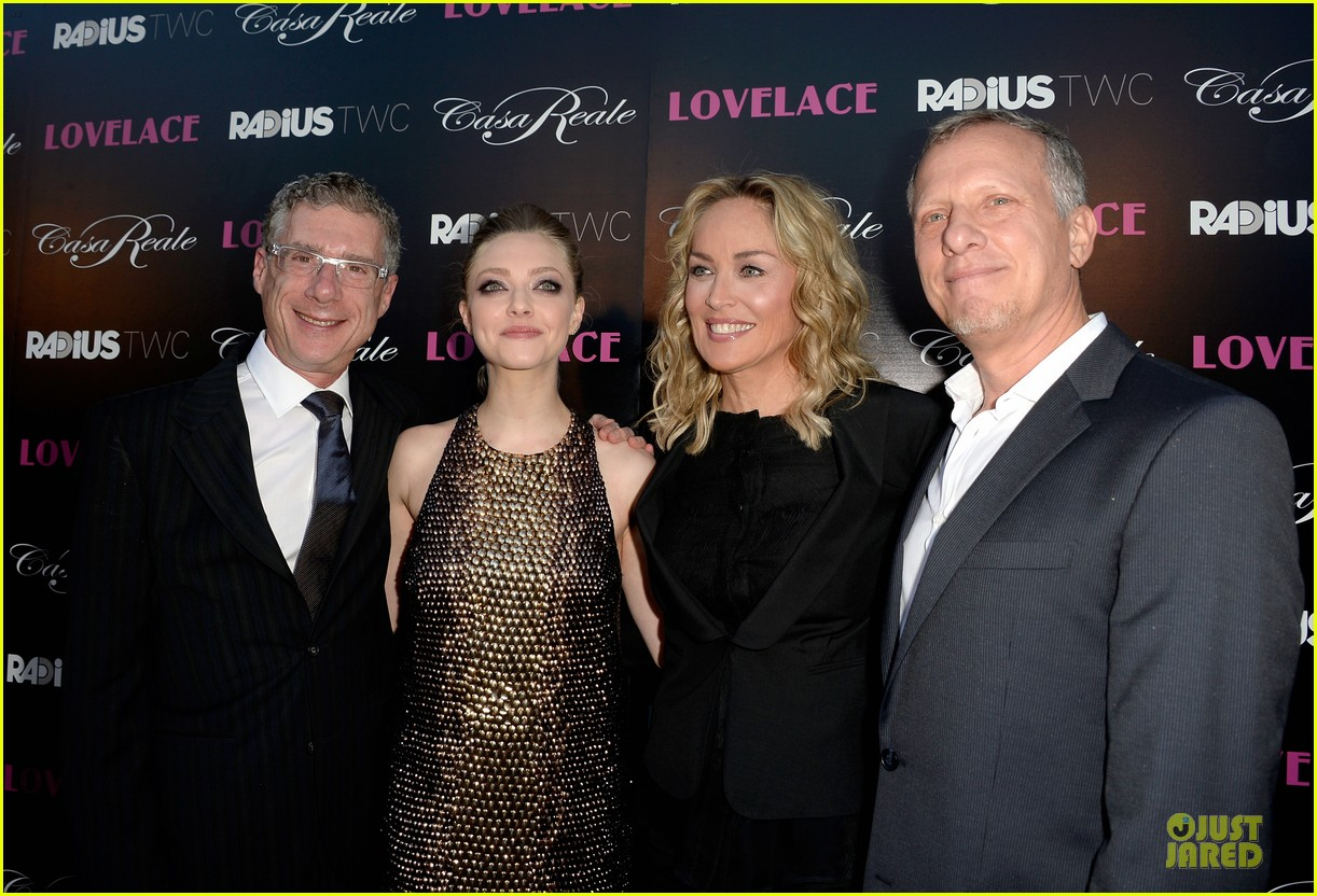 amanda seyfried sharon stone lovelace hollywood premiere 15