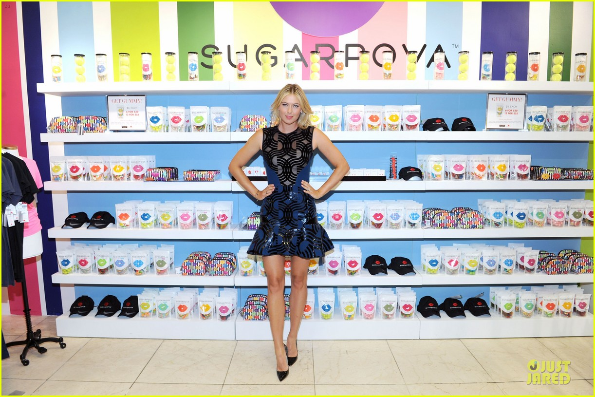 maria sharapova sugarpova accessory collection launch 03