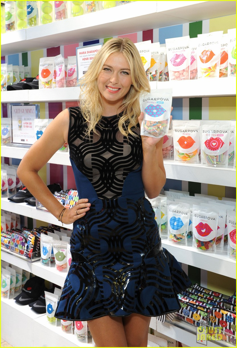 maria sharapova sugarpova accessory collection launch 042934482