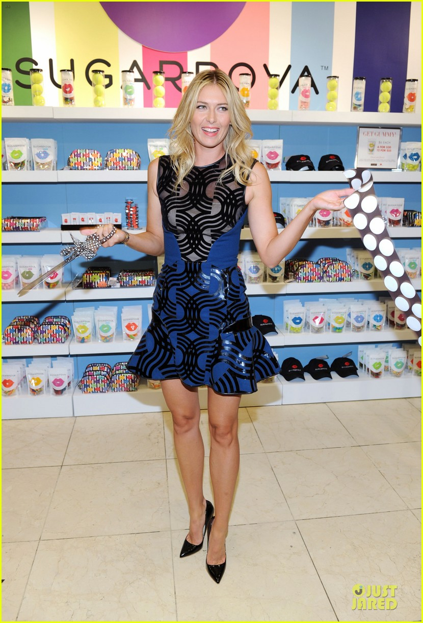 maria sharapova sugarpova accessory collection launch 11