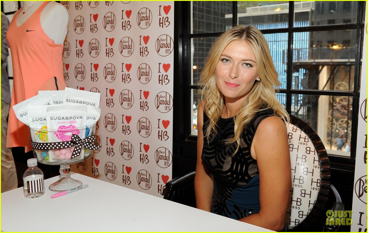 maria sharapova sugarpova accessory collection launch 15
