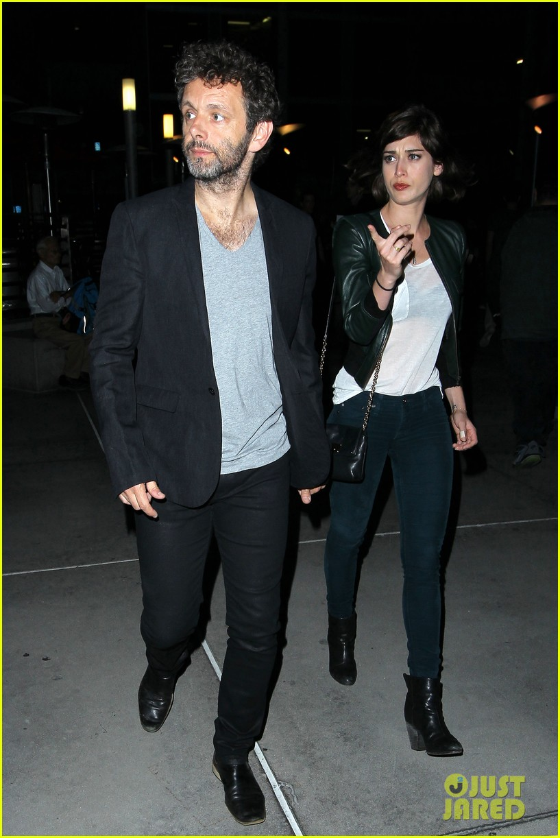 michael sheen lizzy caplan worlds end after party 082935509