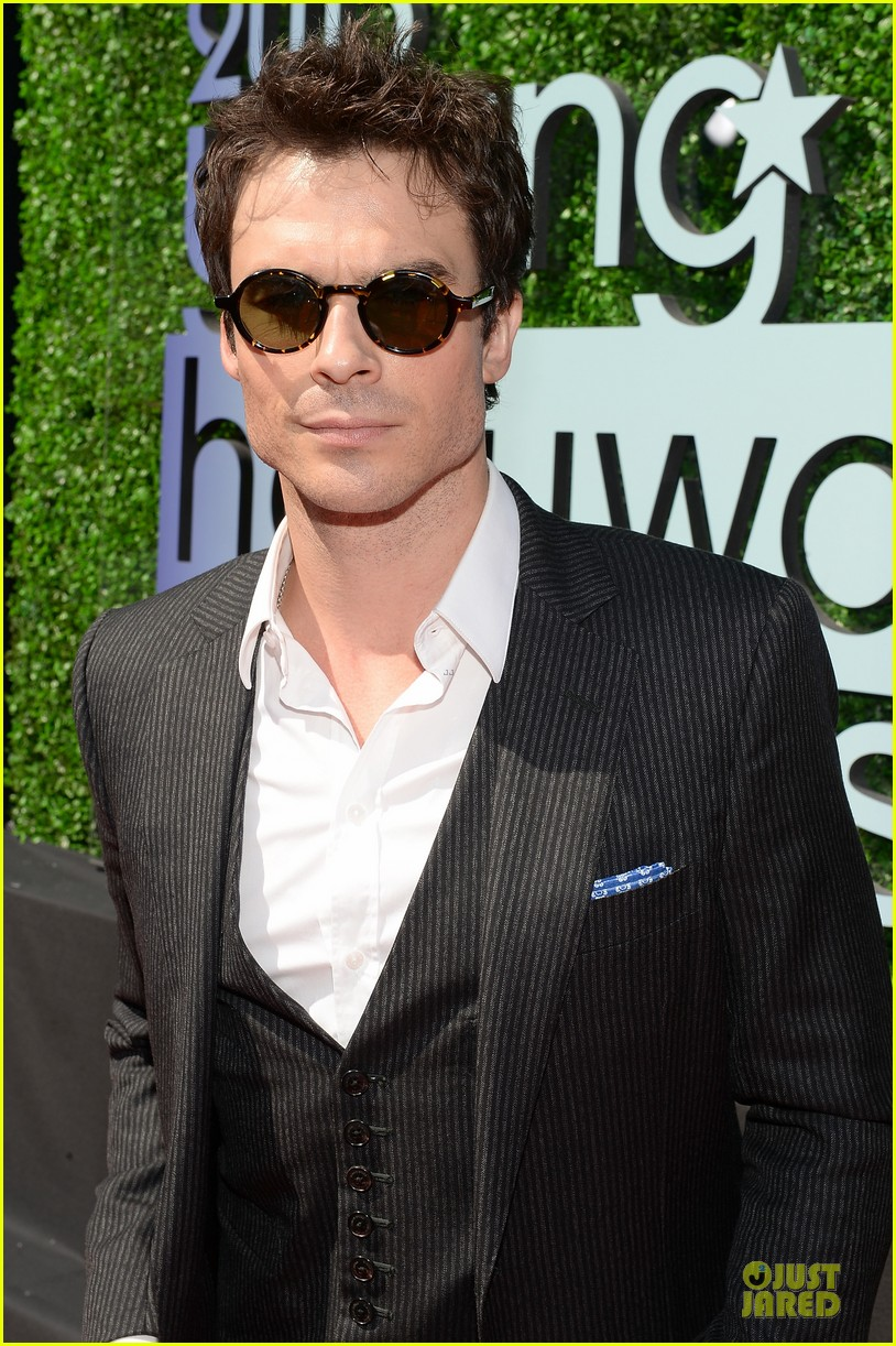 ian somerhalder young hollywood awards 2013 red carpet 10